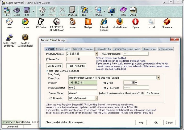 Windows 7 Super Network Tunnel 4.5.1.3 full